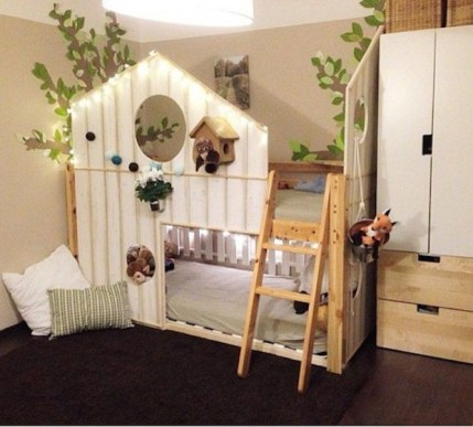 Cool Ikea Kura Beds Ideas For Your Kids Rooms 06