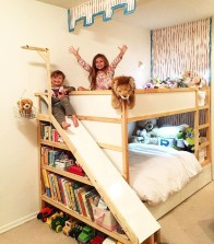 Cool Ikea Kura Beds Ideas For Your Kids Rooms 13