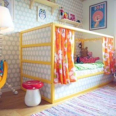 Cool Ikea Kura Beds Ideas For Your Kids Rooms 26