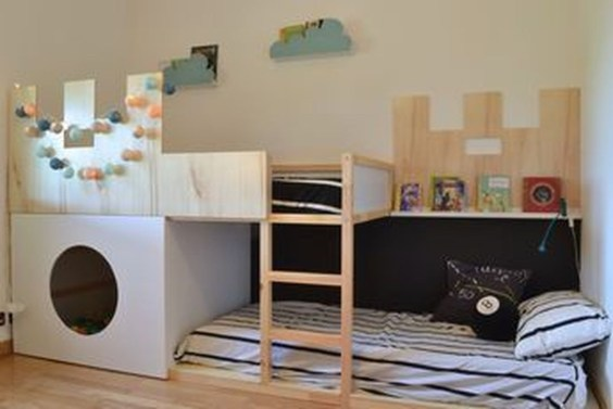 Cool Ikea Kura Beds Ideas For Your Kids Rooms 43