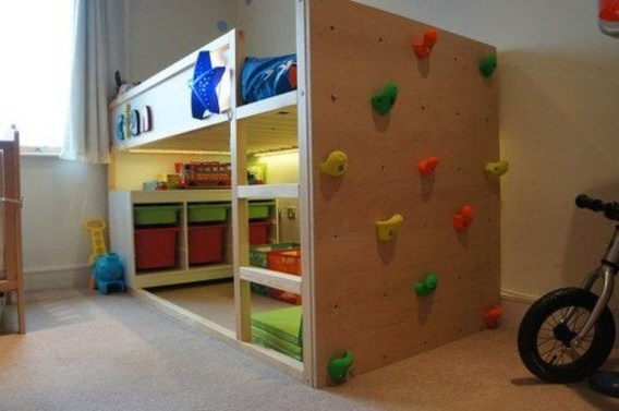 Cool Ikea Kura Beds Ideas For Your Kids Rooms 44