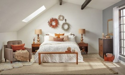 Cozy Fall Bedroom Decoration Ideas 22
