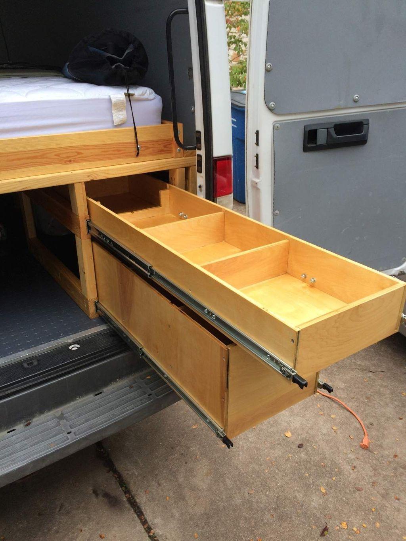 Creative But Simple DIY Camper Storage Ideas 15