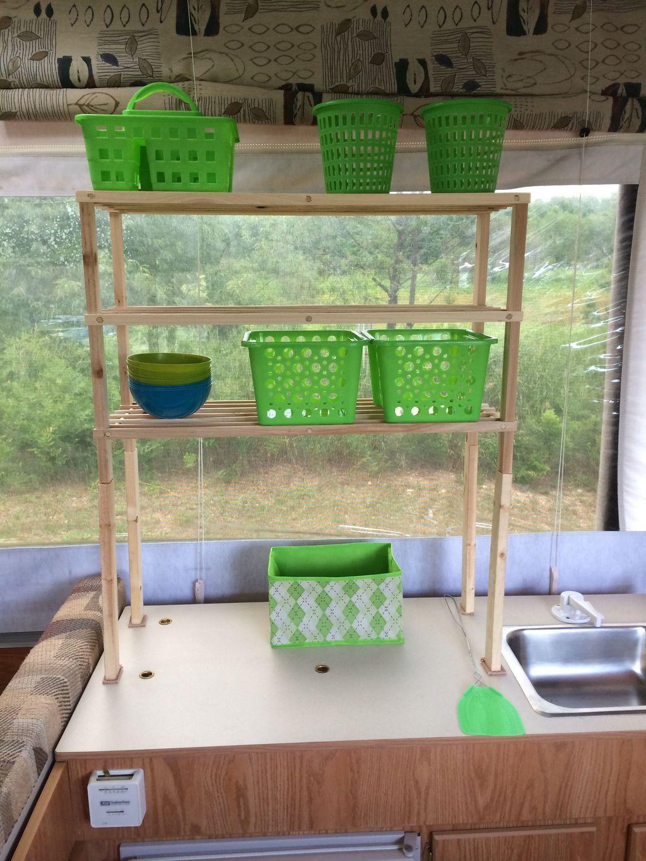 Creative But Simple DIY Camper Storage Ideas 28