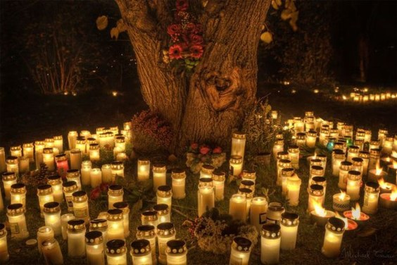 Elegant Outdoor Halloween Decoration Ideas 01