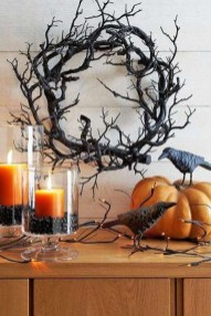 Elegant Outdoor Halloween Decoration Ideas 22