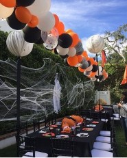 Elegant Outdoor Halloween Decoration Ideas 44