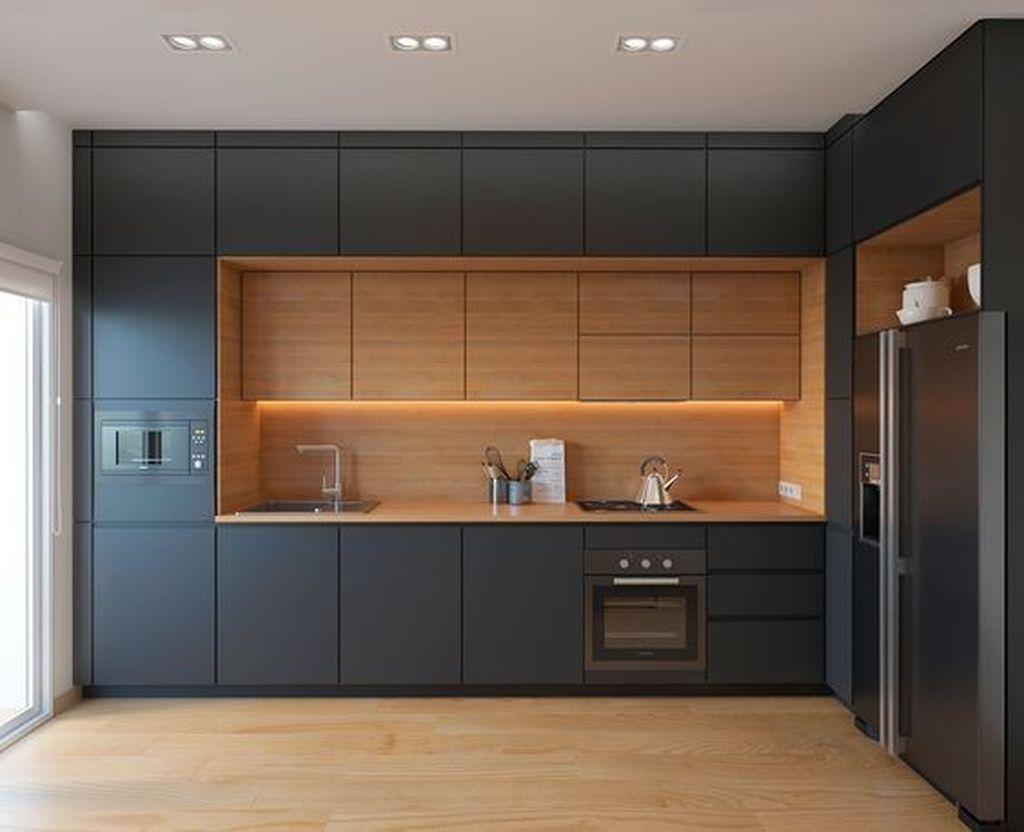 53 Favorite Modern Kitchen Design Ideas To Inspire - HOMYSTYLE