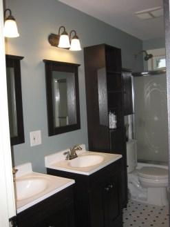 Incredible Bathroom Cabinet Paint Color Ideas 08