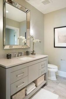 Incredible Bathroom Cabinet Paint Color Ideas 18
