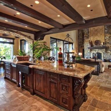Luxury Tuscan Kitchen Design Ideas 02