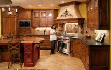 Luxury Tuscan Kitchen Design Ideas 03