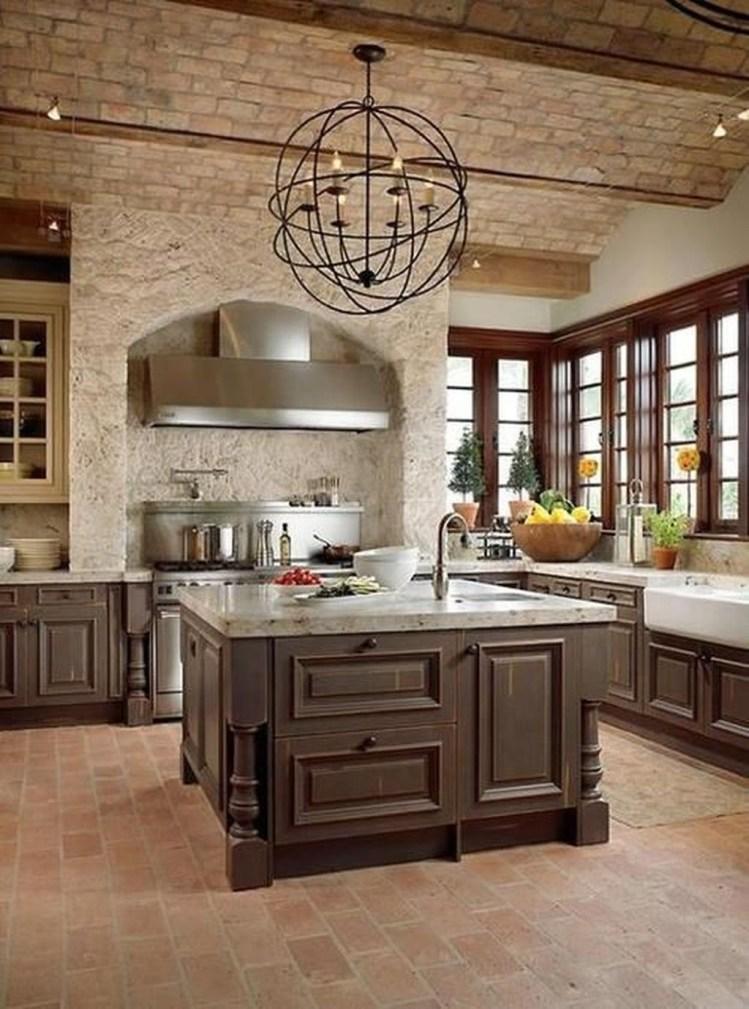 Luxury Tuscan Kitchen Design Ideas 04