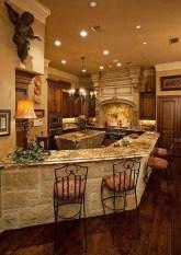Luxury Tuscan Kitchen Design Ideas 28