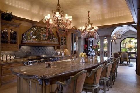 Luxury Tuscan Kitchen Design Ideas 55
