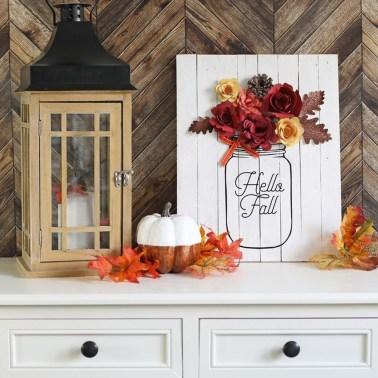 Marvelous DIY Home Decor For A Festive Fall 13
