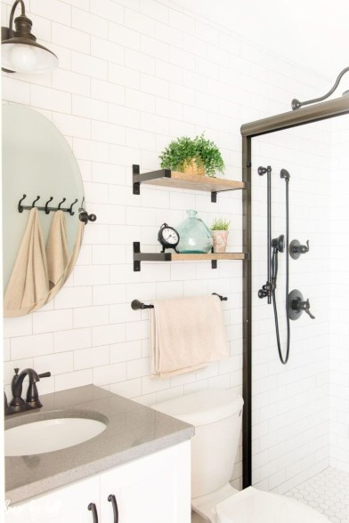 Outstanding DIY Bathroom Makeover Ideas On A Budget 46
