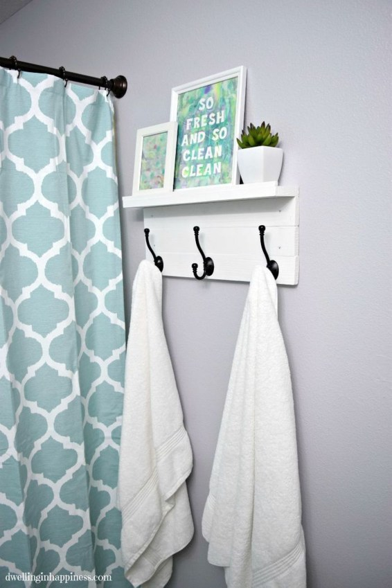 Outstanding DIY Bathroom Makeover Ideas On A Budget 54