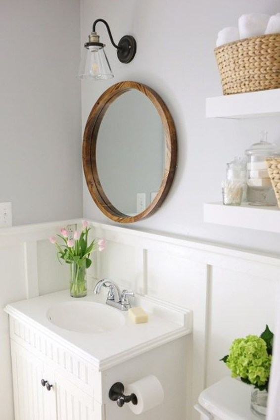 Outstanding DIY Bathroom Makeover Ideas On A Budget 55