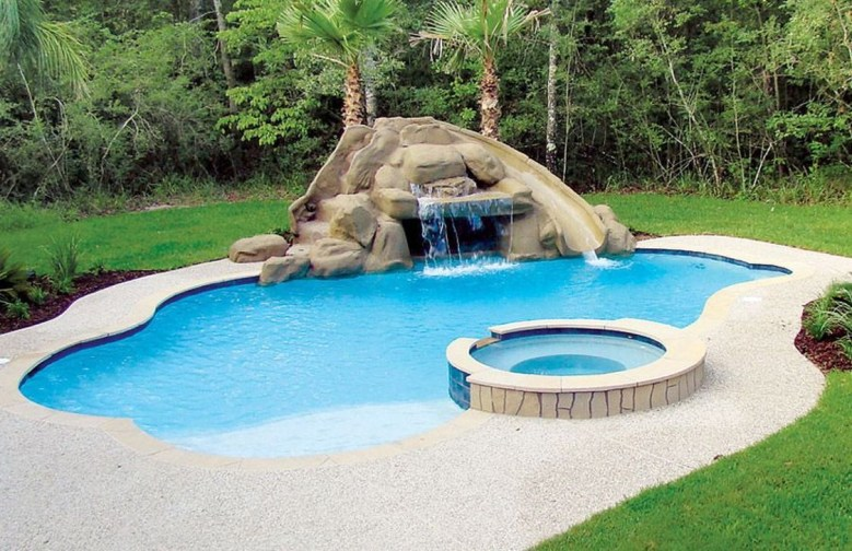 Popular Small Swimming Pool Design On A Budget 36