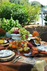 Simple Fall Table Decoration Ideas 11