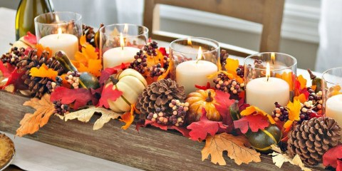Simple Fall Table Decoration Ideas 13