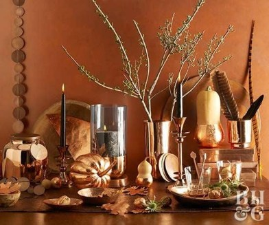 Simple Fall Table Decoration Ideas 26