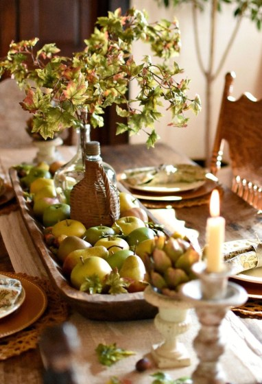 Simple Fall Table Decoration Ideas 46