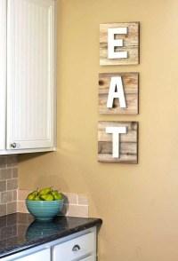 Stunning Kitchen Wall Decor Ideas 47