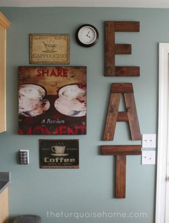 Stunning Kitchen Wall Decor Ideas 51