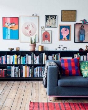 Stunning Living Room Wall Decoration Ideas 46