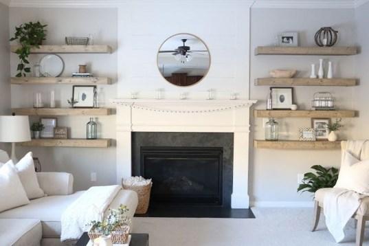 Stunning Living Room Wall Decoration Ideas 47