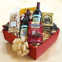 Stylish DIY Wine Gift Baskets Ideas 33