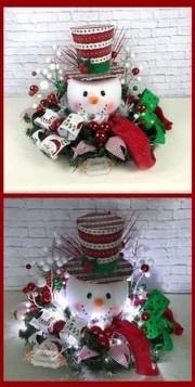 Amazing Christmas Centerpieces Decoration Ideas 41