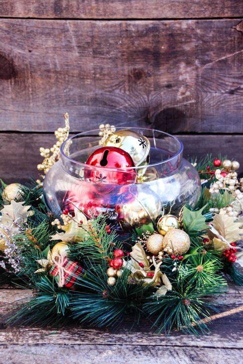 Amazing Christmas Centerpieces Decoration Ideas 60