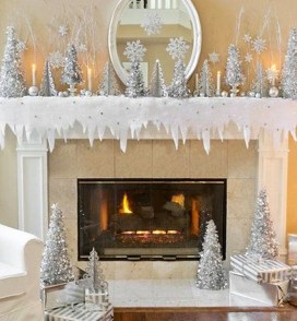 Awesome Fireplace Christmas Decoration To Makes Your Home Keep Warm 39