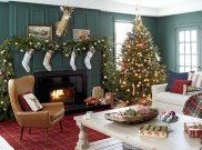 Awesome Fireplace Christmas Decoration To Makes Your Home Keep Warm 58