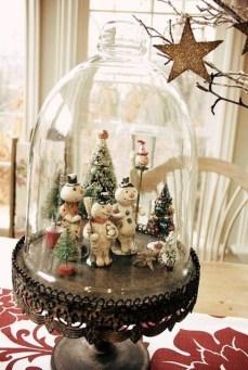 Beautiful Vintage Christmas Decoration Ideas 54