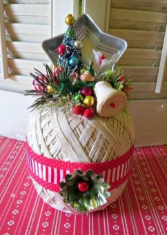 Beautiful Vintage Christmas Decoration Ideas 57