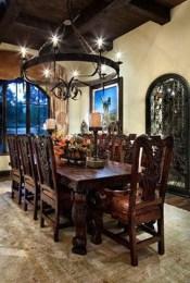 Best Rustic Dining Room Design Ideas 08