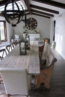 Best Rustic Dining Room Design Ideas 15