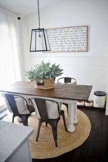 Best Rustic Dining Room Design Ideas 23