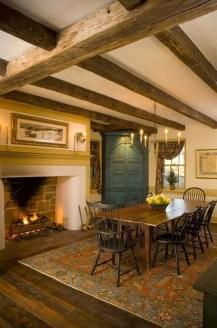 Best Rustic Dining Room Design Ideas 26