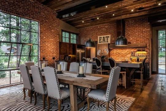 Best Rustic Dining Room Design Ideas 27