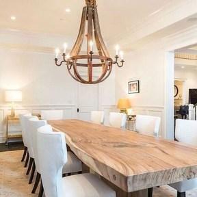 Best Rustic Dining Room Design Ideas 32