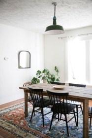 Best Rustic Dining Room Design Ideas 42