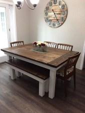 Best Rustic Dining Room Design Ideas 49