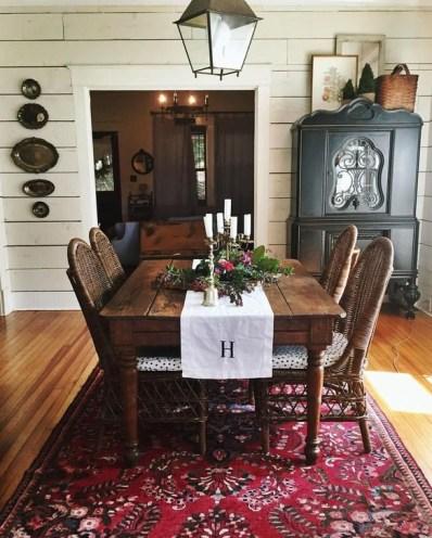Best Rustic Dining Room Design Ideas 59