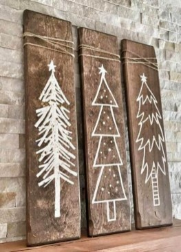 Cool Wood Christmas Decoration You Will Love 06