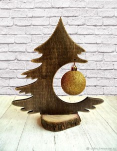 Cool Wood Christmas Decoration You Will Love 55